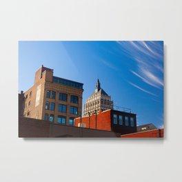 A Kodak Sky Metal Print