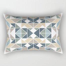 Patchwork inspider pattern 1 Rectangular Pillow