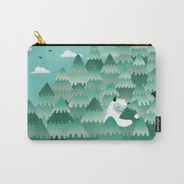 Tree Hugger (Spring & Summer version) Carry-All Pouch