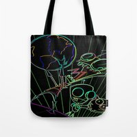 invader zim Tote Bags featuring invader zim by jjb505