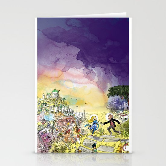 LaLaLand Stationery Cards
