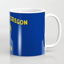 Musical Oregon State Flag Coffee Mug