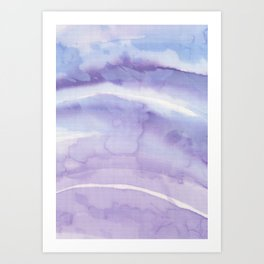 Abstract wave 08 textile Art Print