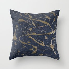 Abstract background 34 Throw Pillow