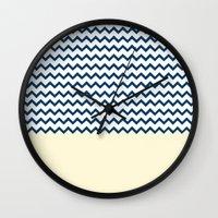marine Wall Clocks featuring MARINE by JeremyG