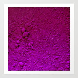 Violeta Absoluto Art Print
