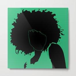lime green Metal Print