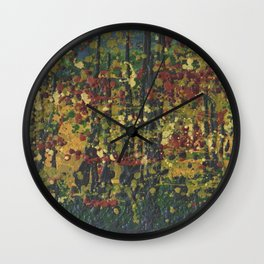 Autumn 30 Wall Clock