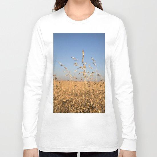 Provence Summer field Long Sleeve T-shirt