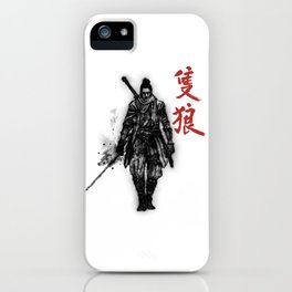 One Armed Wolf iPhone Case
