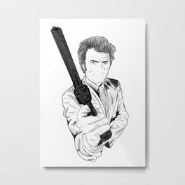 Magnum Force (Clint Eastwood Metal Print