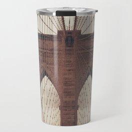 Moody Brooklyn Bridge Travel Mug
