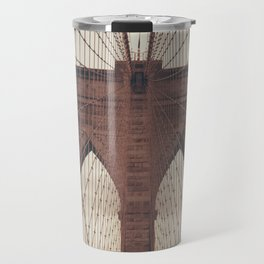 Moody Brooklyn Bridge Travel Mug