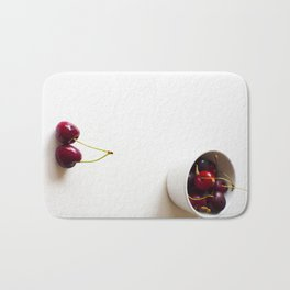 Cherries are not the only fruit Bath Mat