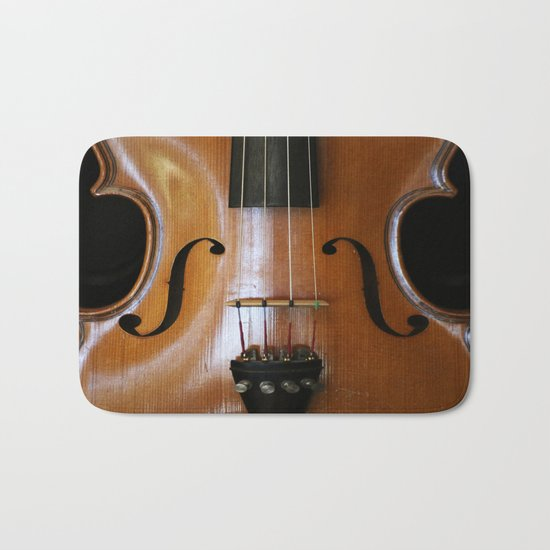 Violin Bath Mat