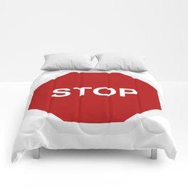 stop Comforters