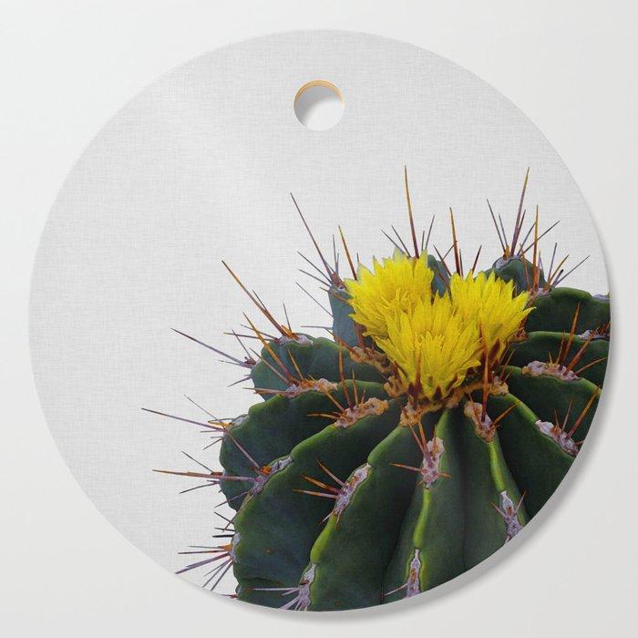 Cactus Flower Cutting Board