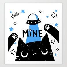 mine Art Print