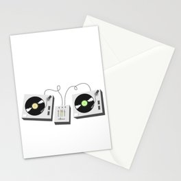 Turntables Stationery Cards