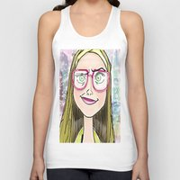 chemistry Tank Tops featuring chemistry whiz by grapeloverarts