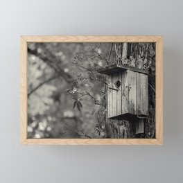 Farewell cold days  Framed Mini Art Print
