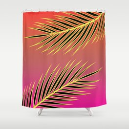 Hawaiin Heat Shower Curtain