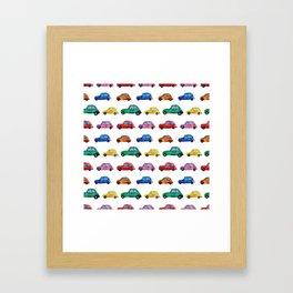 Italian cars Framed Art Print