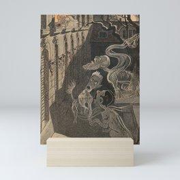 ghostly apparitions Mini Art Print