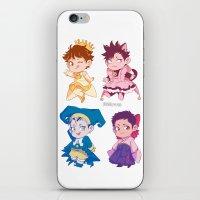 johannathemad iPhone & iPod Skins featuring CCS captains by JohannaTheMad