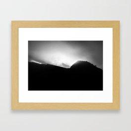 Rock rayz Framed Art Print