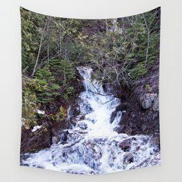 Mountain Cascade Wall Tapestry