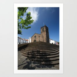 Sao Miguel Arcanjo church Art Print