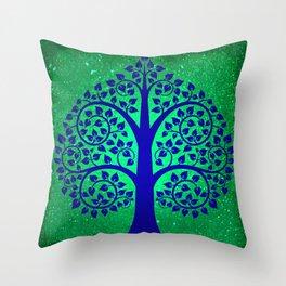 Bodhi Tree0108 Throw Pillow
