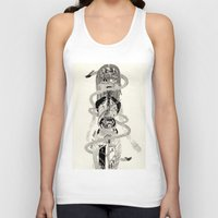 biology Tank Tops featuring Soul Biology  by Ursula Hart