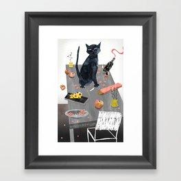 Trustworthy Creature Framed Art Print