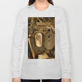 The USS Batfish SS-310 - The Torpedo Room Bulkhead View of the Officers' Quarters Long Sleeve T-shirt