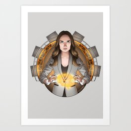 AIDA - No Strings Attached Art Print