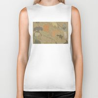 fifth element Biker Tanks featuring The Fifth Element by Itxaso Beistegui Illustrations