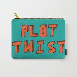 Plot Twist Carry-All Pouch