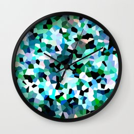 Turquoise Dream Wall Clock