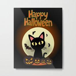 Happy Halloween 2 Metal Print