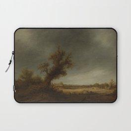 andscape with an old oak, Adriaen van Ostade, 1640 - 1650 Laptop Sleeve