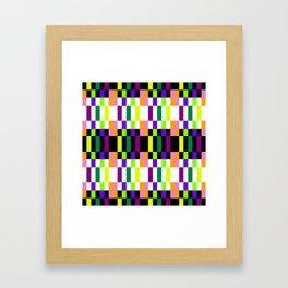 COLORFUL GEOMETRY Framed Art Print
