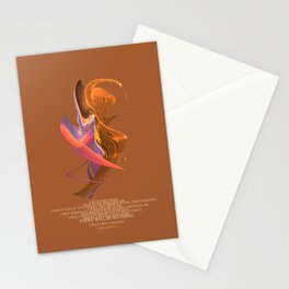 Bene Gesserit Litany Against Fear Stationery Cards