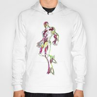 ironman Hoodies featuring Ironman by DmDan