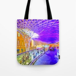 London Pop Art Tote Bag