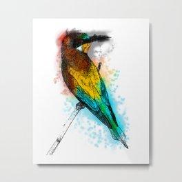 i am the bird am i? Metal Print