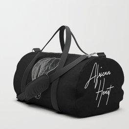 White Neon Elephant Duffle Bag