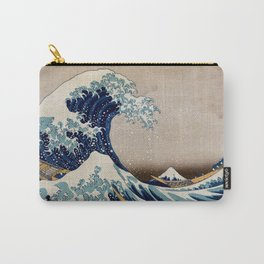 Under the Great Wave by Hokusai Carry-All Pouch