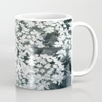 lace Mugs featuring Lace by Olivia Joy StClaire